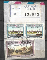 USED STAMPS OMAN ON PIECE - Oman