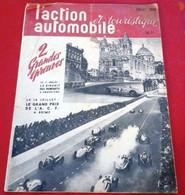 L'action Automobile Juillet 1948 Circuit Des Remparts Angoulême, Grand Prix ACF Reims Engagés Chiron Sommer Trintignant - 1900 - 1949