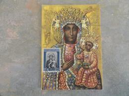 CARTE MAXIMUM CARD LA VIERGE NOIRE ITALIE - Other