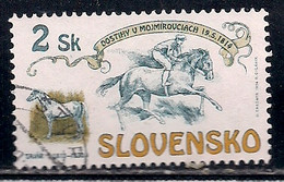 SLOVAQUIE     N°   168  OBLITERE - Usados