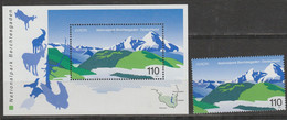 Allemagne Europa 1999 N° 1877 Et BF 46 ** Reserves Et Parcs - 1999