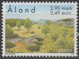 Aland Europa 1999 N° 156 ** Reserves Et Parcs Naturels - 1999