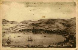 8261  -  Iles FEROE  :  PROSPECT Af THORSHAVN  I Aaret 1778 - édit :J. Lützen, Thorshavn - Eneret 26509 - Faroe Islands