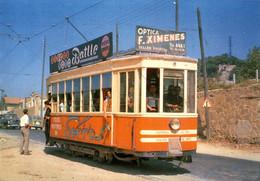 N° 9544 R -cpsm Tranvia N° -Barcelona- - Tranvía