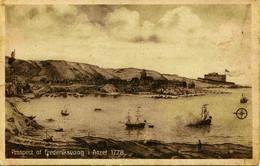 8262  -  Iles FEROE  :  PROSPECT Af   FREDERIKSVAAG   I  Aaret 1778 - édit :J. Lützen, Thorshaun - Eneret 26510 - Faroe Islands