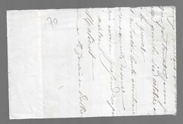 St LOUP DE LA SALLE  : 1881 :  CàD  Type 17 Sur Sage 15c Bleu ( N°90 )  Sur Devant De Lettre  ( Saône Et Loire ) : - 1849-1876: Periodo Classico