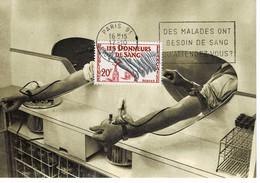 CM FRANCE 1959 LES DONNEURS DE SANG - 1950-59