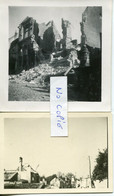 Ardennes. GIVET. 40. 2 Photos Originales Allemandes - 1939-45