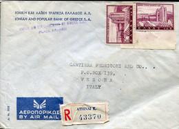 62293 Greece,cover Circuled Registered 1965 As Scan - Briefe U. Dokumente