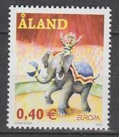 Aland Europa 2002 N° 207 ** Cirque - 2002
