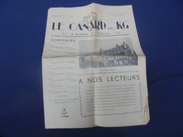 LE CANARD En KG Bi-Mensuel De L'Oflag XVII A 1er Mai 1941 - 1939-45