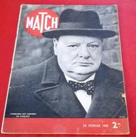 Match 29 Février 1940 Churchill Abordage Altmark, Régiment De Marine Sur Le Front, Aumonier Militaire, Vorochilov - 1900 - 1949
