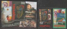 Albanie Europa 2003 N° 2656/ 2657 Et BF 110 ** Art De L'affiche - 2003