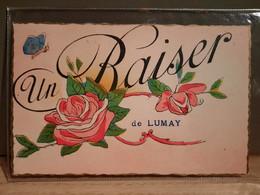 Jodoigne - Zétrud Lumay Un Baiser - Envoyé En 1947 à Anvers - état Parfait - Jodoigne