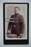 CDV: Französischer Soldat DETON-CORNAND Charleroi - War, Military