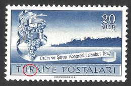 ERRORS TURKEY 1947 KONGRES ISTANBUL 1947 --MNH LUX - Ungebraucht