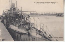 ROCHEFORT SUR MER - Bassin N° 3 - Contre Torpilleur  à Quai  - Marine Bateau  PRIX FIXE - Rochefort