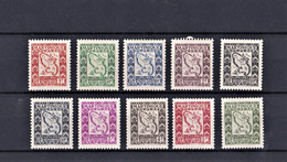 Martinica 1947 Tasa Serie Completa. - Non Classés
