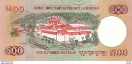 Bhutan P.33a 500 Ngultrum 2006 Unc - Bhoutan