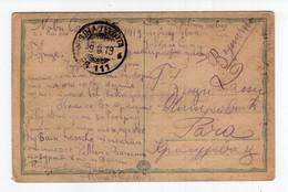 1919 KINGDOM OF SHS,SERBIA,NOVI SAD TO RAČA,MILITARY POST 111,ILLUSTRATED POSTCARD,USED - Yugoslavia
