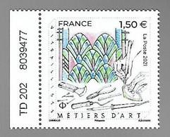 France 2021 - Yv N° 5471 ** - Métiers D'art - Vitrailliste - Unused Stamps