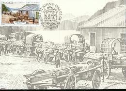 TRANSKEI  CARTE MAXIMUM NUM.YVERT 182 HISTOIRE DE PORT ST JOHNS - Transkei