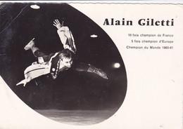 Cpa - Sport  - Alain Giletti -pas Sur Delc.- Patinage Artistique - Figure Skating