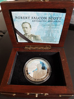 Niue Silver 2 Dollars Robert Falcon Scott, KM-1248, 2012, Colored, PROOF. Mintage=5000 - Other - Oceania