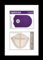 Faroe Islands 2020 Mih. 993/94 Church Textiles (II) (self-adhesive) MNH ** - Faroe Islands