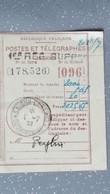Cochinchine MANDAT  Indochine Française Saigon Central Poste Et Télégraphes 1932 - Lettres & Documents