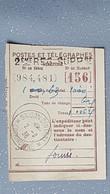 Cochinchine MANDAT  Indochine Française Saigon Central Poste Et Télégraphes 1938 - Lettres & Documents