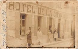 PIE.T. J-M-21-010 : COZES. HOTEL DE LA CROIX D'OR.  HOTEL GUEDON. (gros Défauts) - Autres Communes