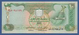 UNITED ARAB EMIRATES - P.20a – 10 DIRHAMS1998 - UNC - United Arab Emirates