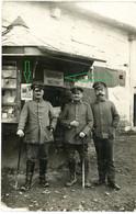 14-18.WWI Fotokarte-Deutsche Soldaten  Feldbuchhandlung Der 3.Armee (1-2) Tolle Aufnahme ! - 1914-18