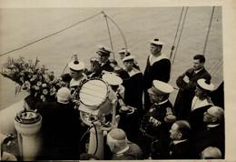 CEREMONIE EN MER SUR L'EPAVE PROMETHEE M LEYCUE  DERNIER ADIEU  18*13CM Photo Meurisse Paris Collectionmeurisse - Boats