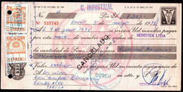 "Bolivia 1978 Letra $b50.-.""EDVIL"" Edit. Offset. 2x$b4.- TIPO H&A 128 Grande. Lito Unidas S.A, La Paz - Bolivia"