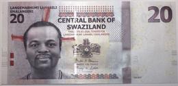 Swaziland - 20 Emalangeni - 2017 - PICK 37c - NEUF - Swaziland