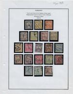 Série Complète  Obl   Année 1900/04, N:37/55  ( 20 Timbres)  TB ( Dent 12) - Gebraucht