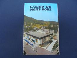 CASINO DU MONT-DORE Dépliant 1976 - Toeristische Brochures