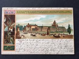 MUNICH 1898 - Exposition De Machines - Carte Officielle - Muenchen