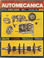 Revista Automecánica Nº 5. Septiembre 1969. Automec-5 - Other