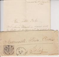 BM876 - Alter Brief Rumänien, Jassy (Iași) - Galatz (Galați), 1902, Französisch Handgeschrieben - Enteros Postales