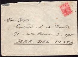 Argentina - Circa 1910 - Lettre - Circulé - Envoyé En Argentina - A1RR2 - Cartas