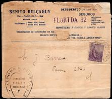 Argentina - Circa 1910 - Lettre - Circulé - Envoyé En Buenos Aires - A1RR2 - Cartas