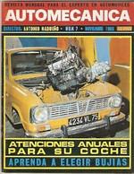 Revista Automecánica Nº 7. Noviembre 1969. Automec-7 - Other