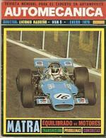 Revista Automecánica Nº 8. Enero 1970. Automec-8 - Other