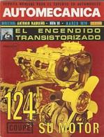 Revista Automecánica Nº 10. Marzo 1970. Automec-10 - Other