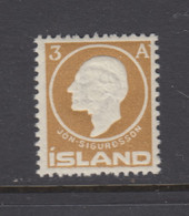 Iceland, Scott 87, MNH - Unused Stamps