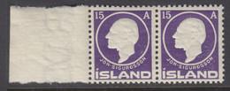 Iceland, Scott 90, MNH Pair - Unused Stamps