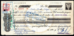 Bolivia 1978 Letra $b20.-.Editorial Letras. TIPO H&A 130 $b5 O. Millán Ltda. - Bolivia